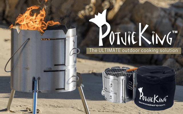 PotjieKing™ - Potjieking portable Braai