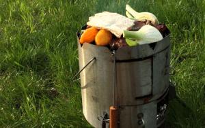 PotjieKing™ - Vegetarian braai / BBQ