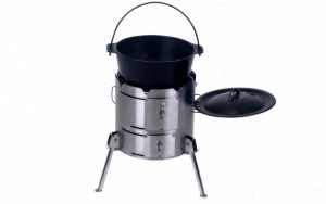 PotjieKing™ - Flat bottomed potjie pot no2