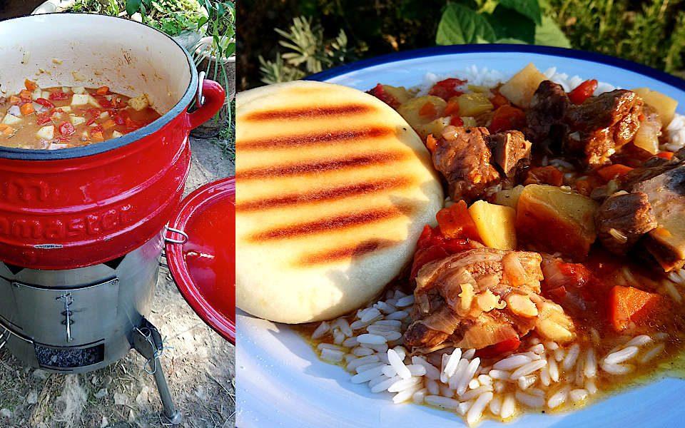 Moroccan Lamb Potjie